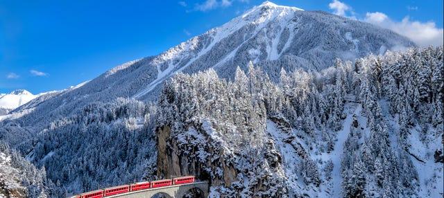 Alpi Svizzere con il Bernina Express