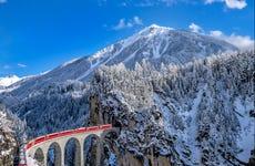 Alpes Suíços no Bernina Express