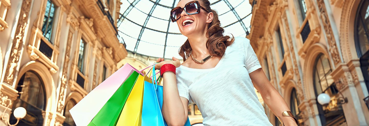 Tour dello shopping agli outlet di Serravalle