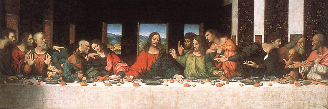 The Last Supper By Leonardo Da Vinci Cenacolo Vinciano Milan