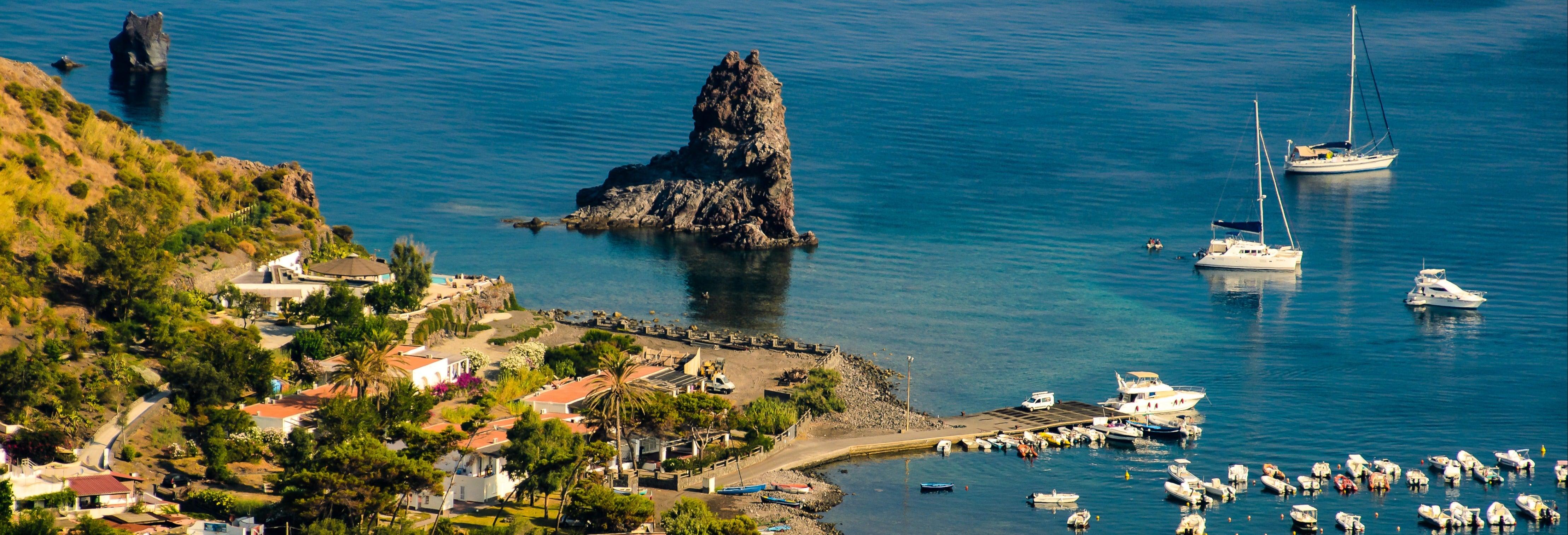 Excursão a Vulcano, Stromboli e Panarea
