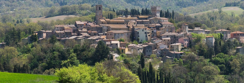 Excursão a Cetona e San Casciano dei Bagni