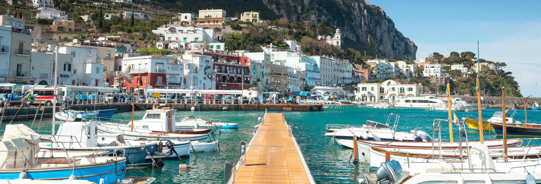 Escursione a Capri in barca