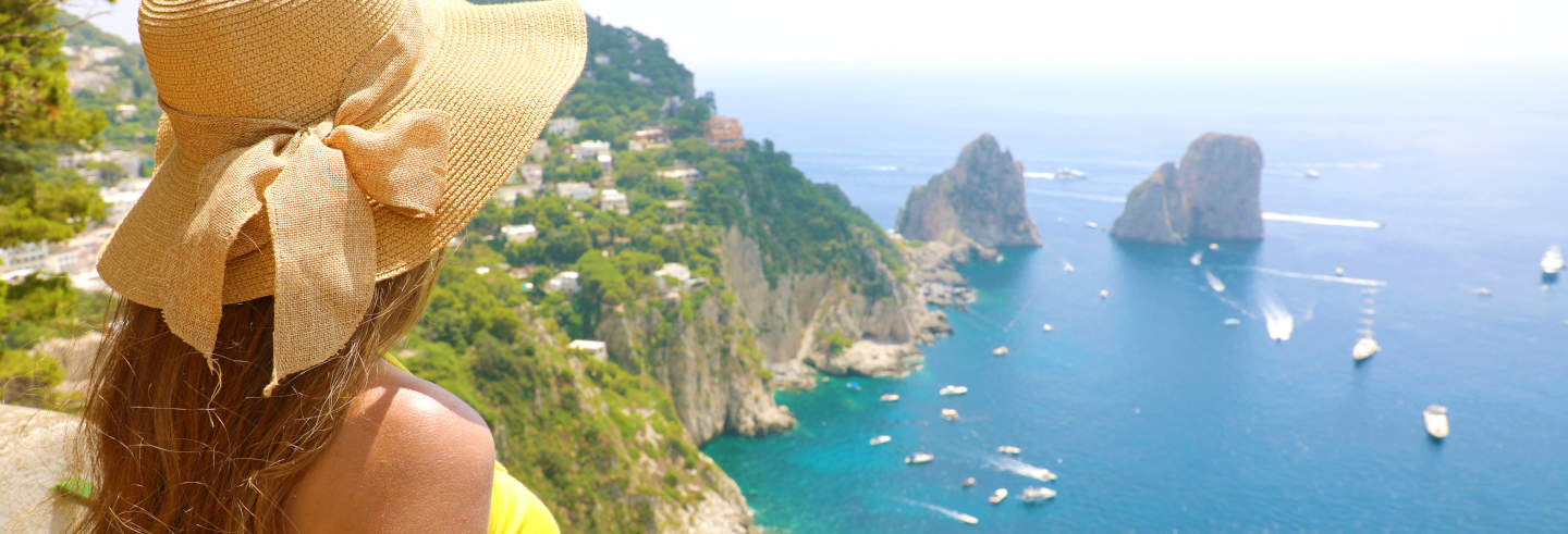Escursione a Capri e Pompei
