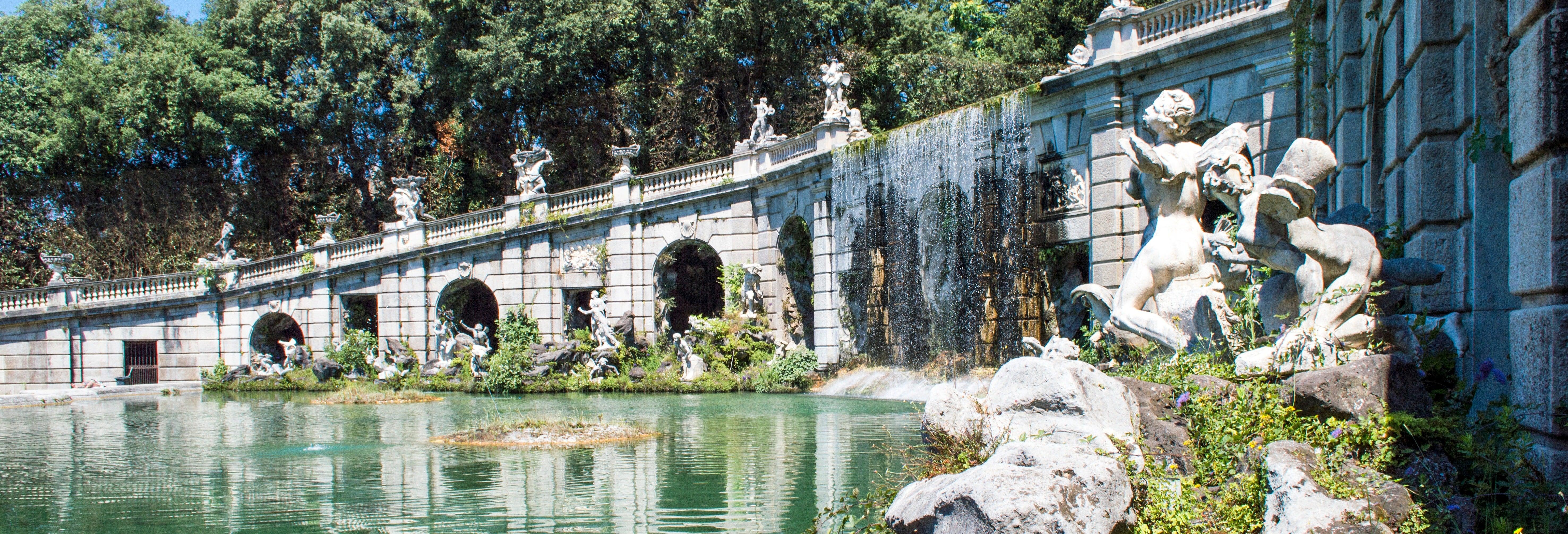Excursión al Palacio Real de Caserta
