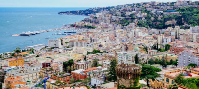 Free tour por los miradores y callejones de Nápoles