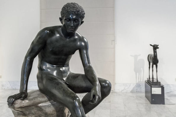 Sculptures in the National archaeological museum