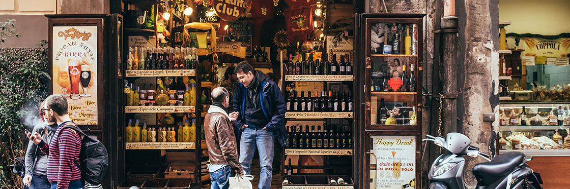 Orario commerciale a Napoli