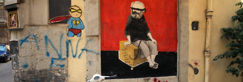 Tour del arte urbano por Nápoles