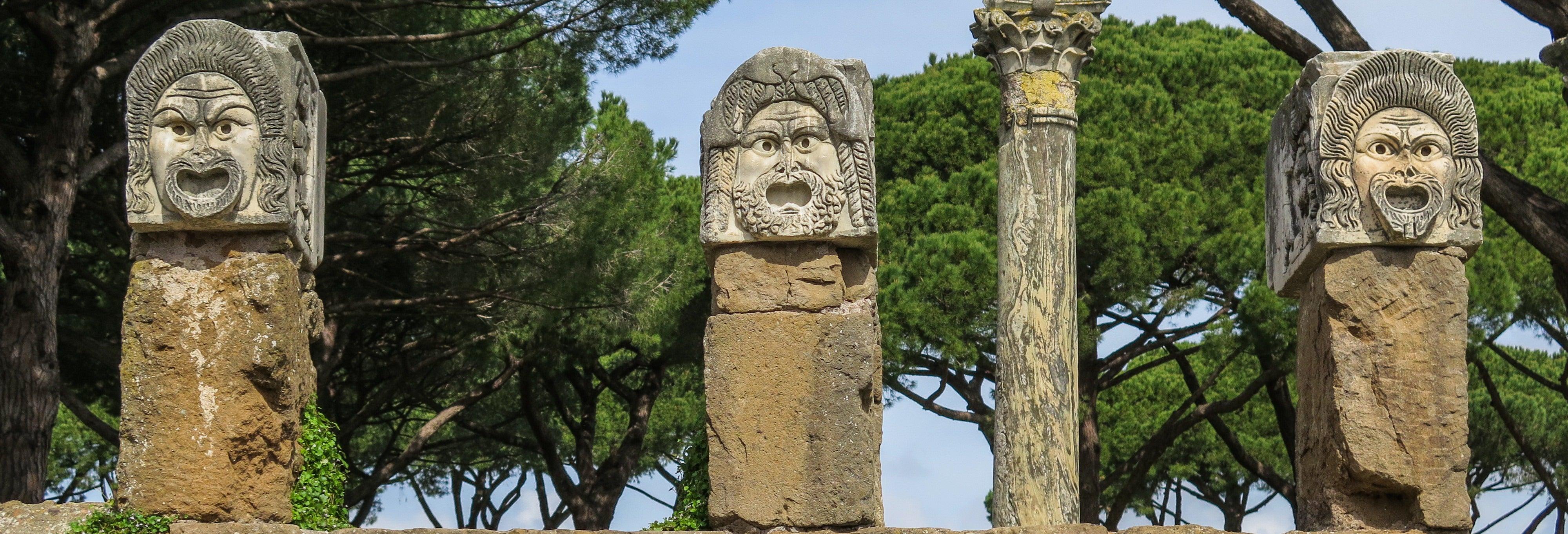 Visita guiada por Ostia Antica