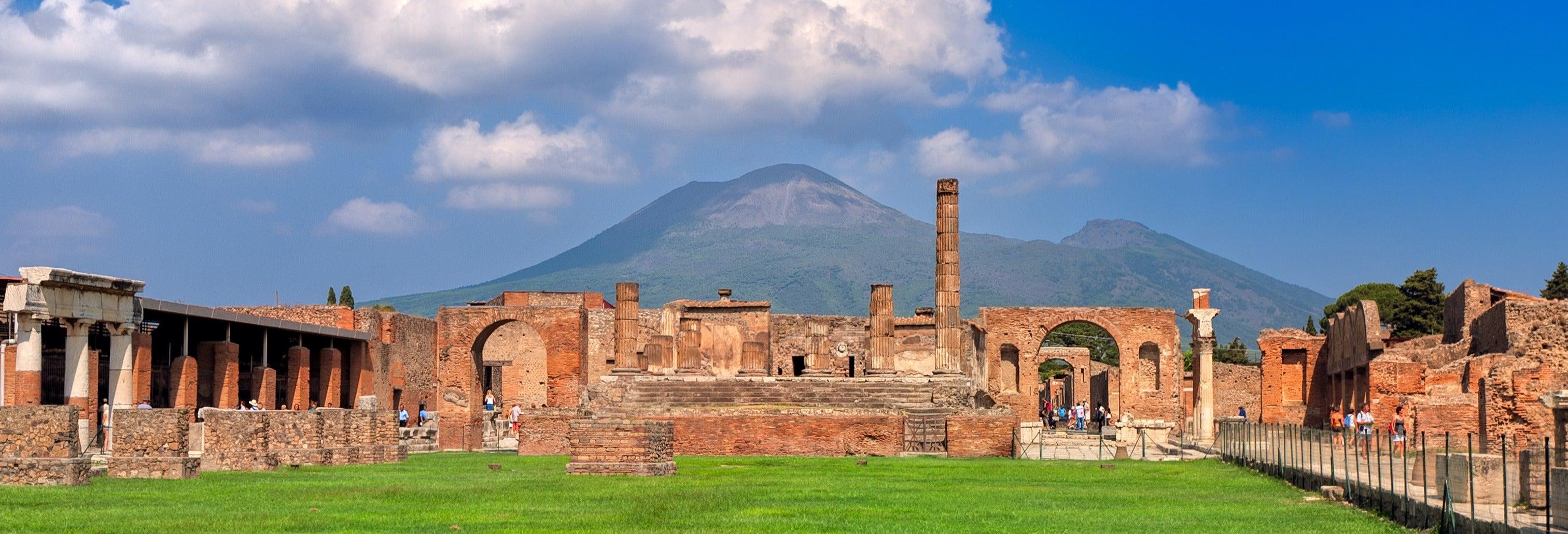 Excursion à Pompéi et au Vésuve
