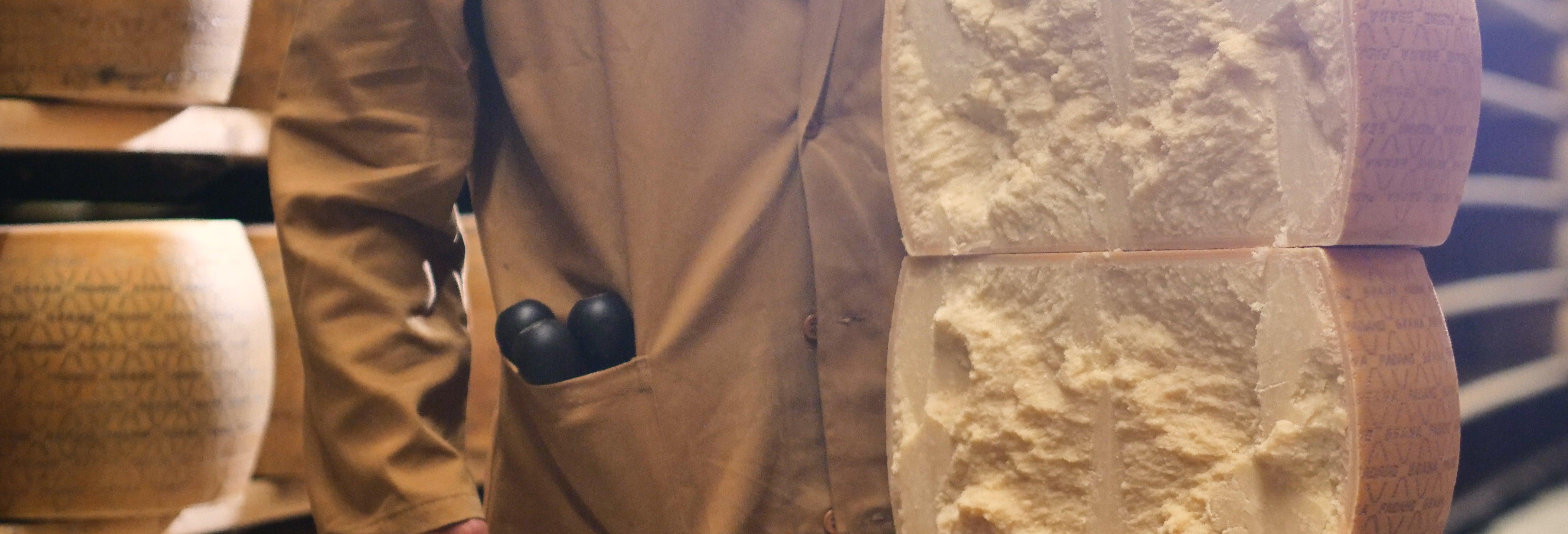 Tour privado a una fábrica de queso parmesano y jamón de Parma