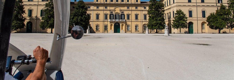 Tour di Parma in risciò