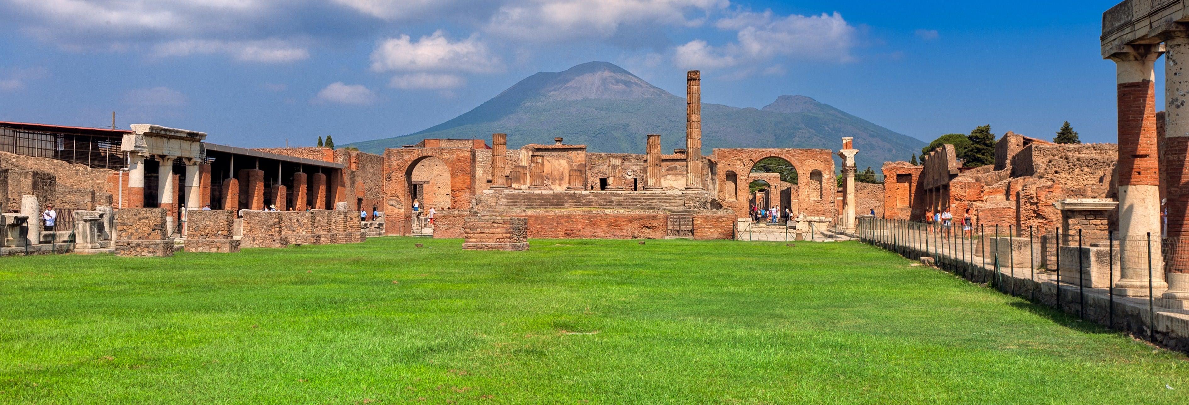 Pompeii Tour + Vesuvius Horse Ride