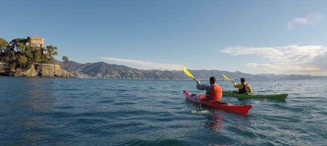 Tour in kayak a Portofino