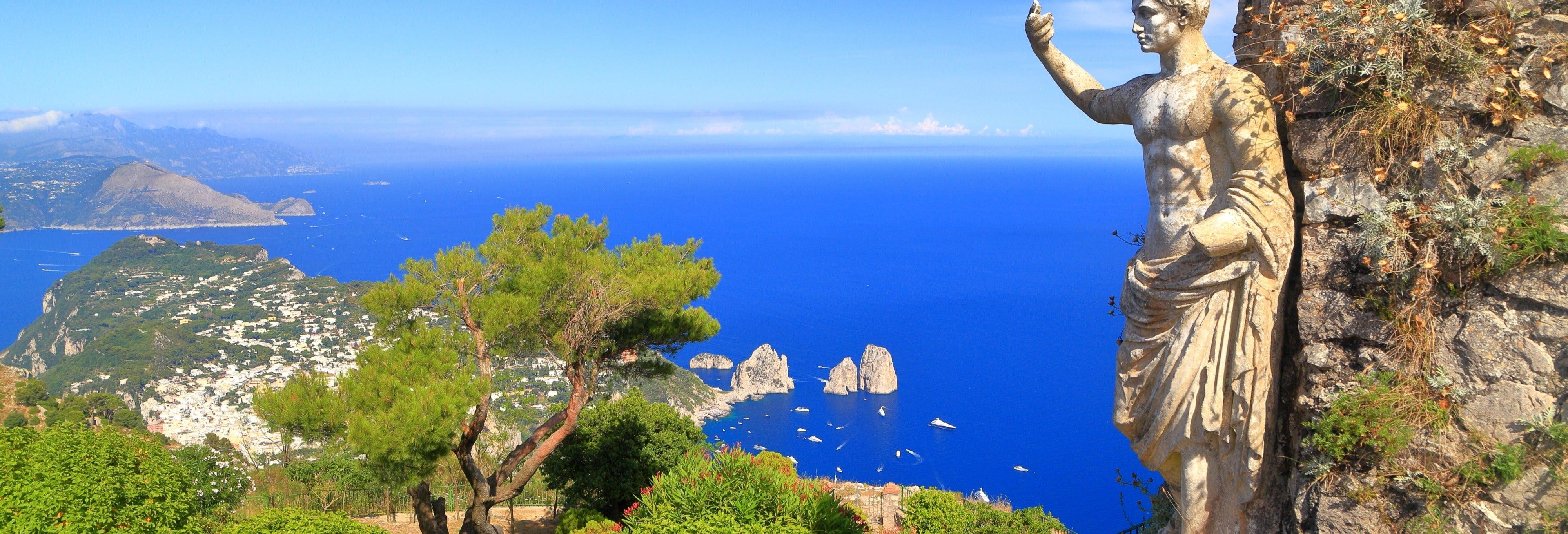 Excursão a Capri e Sorrento