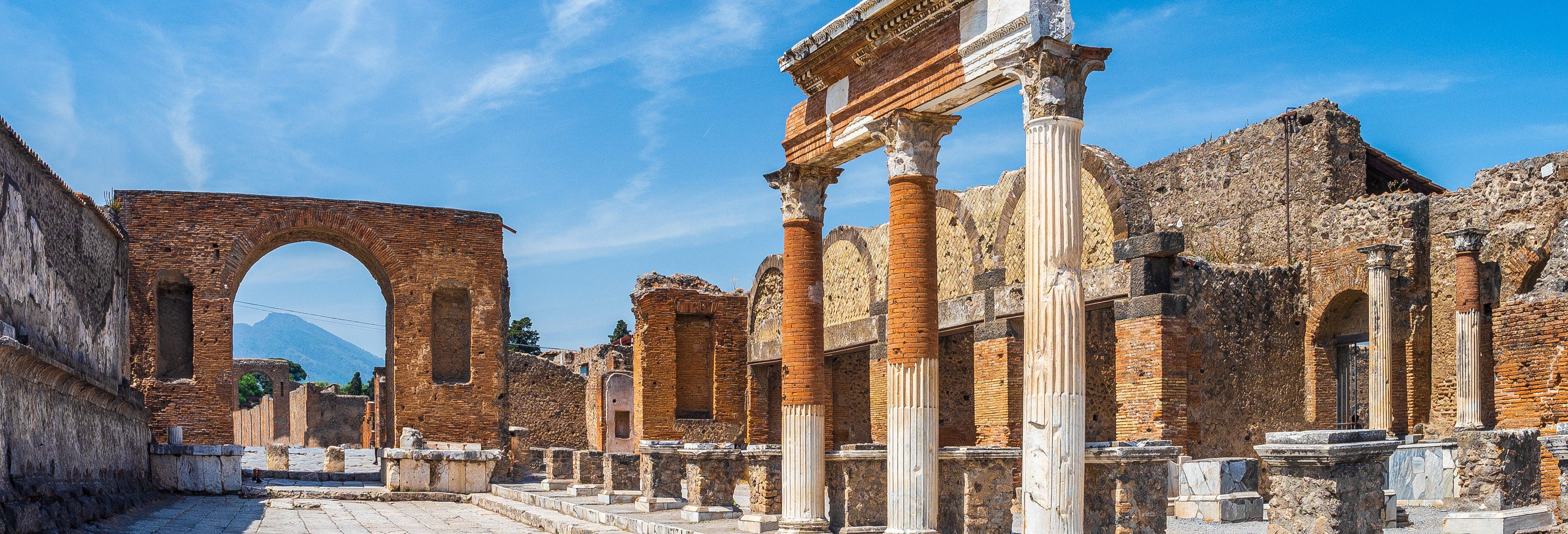 Excursão a Pompeia e ao Vesúvio