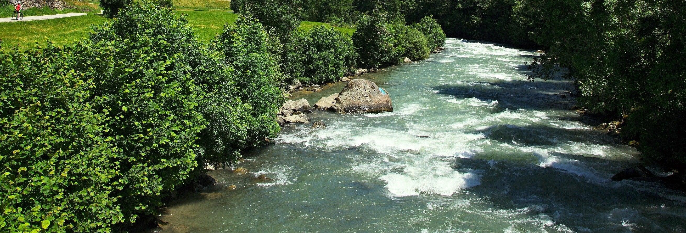 Tour de caiaque pelo rio Noce
