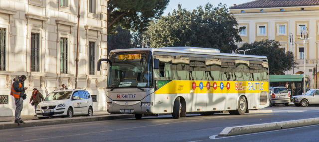 Transfer entre o aeroporto de Ciampino e Roma