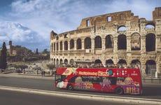 Rome Tourist Bus