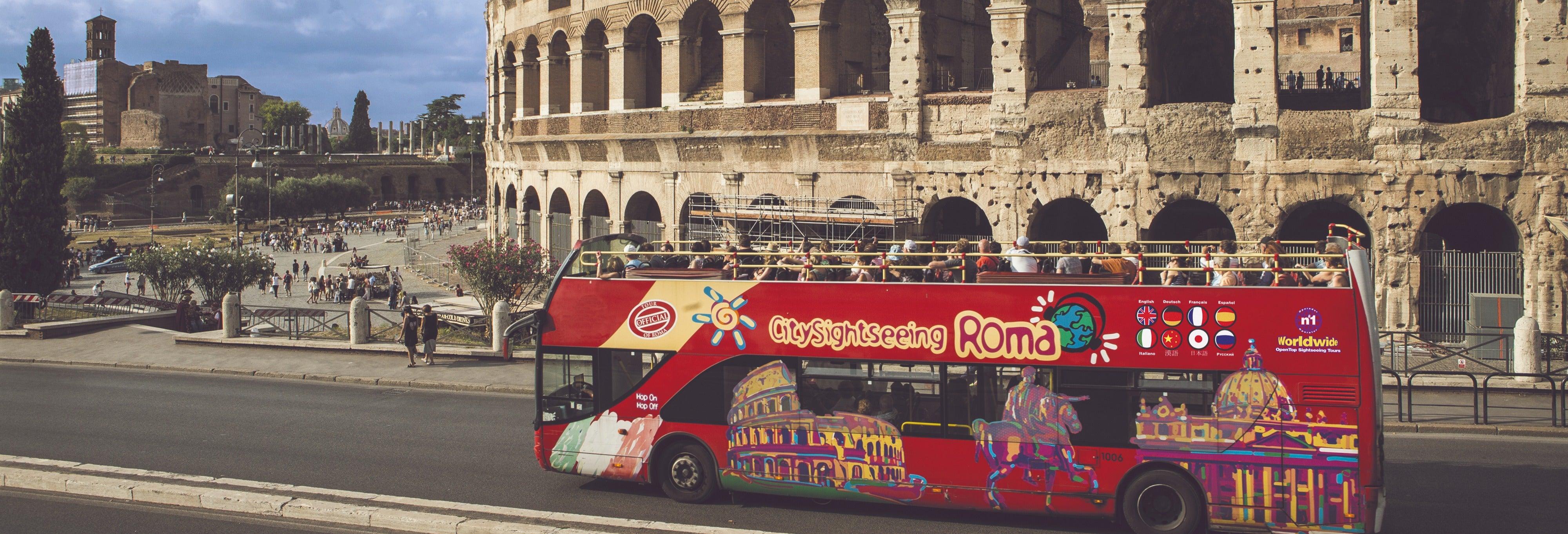 Autobus turistico di Roma