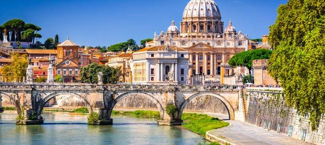 Battello turistico di Roma