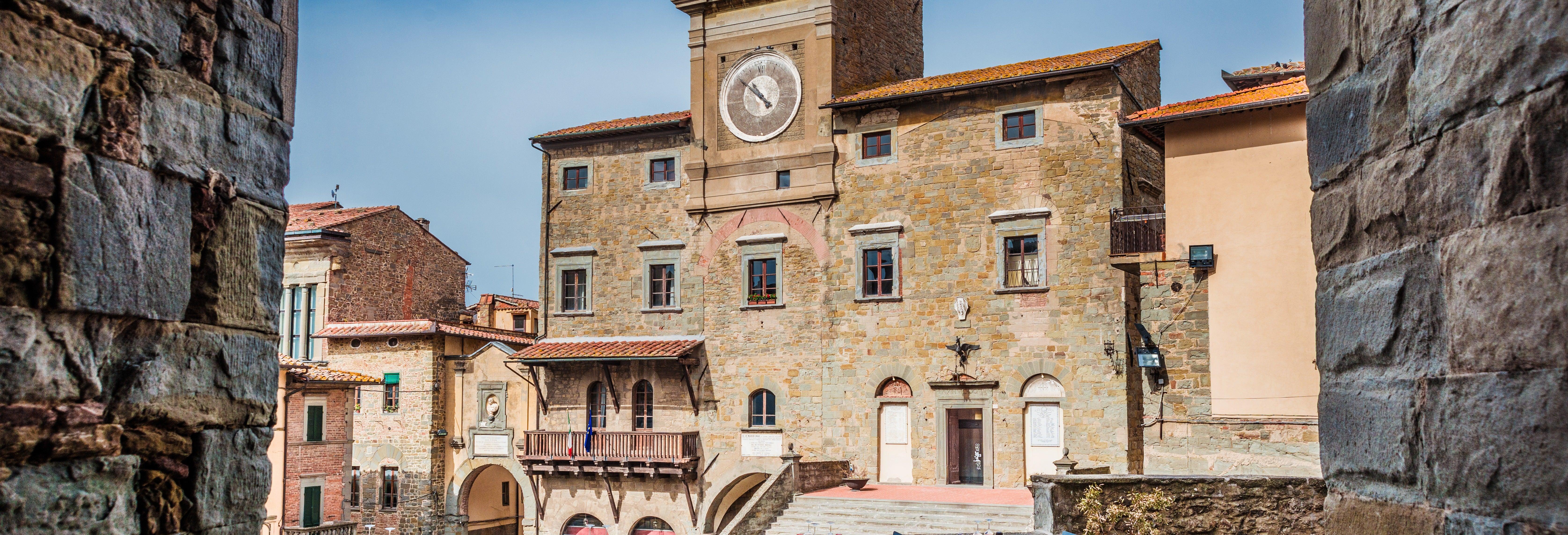Excursion à Cortone et dans le Chianti