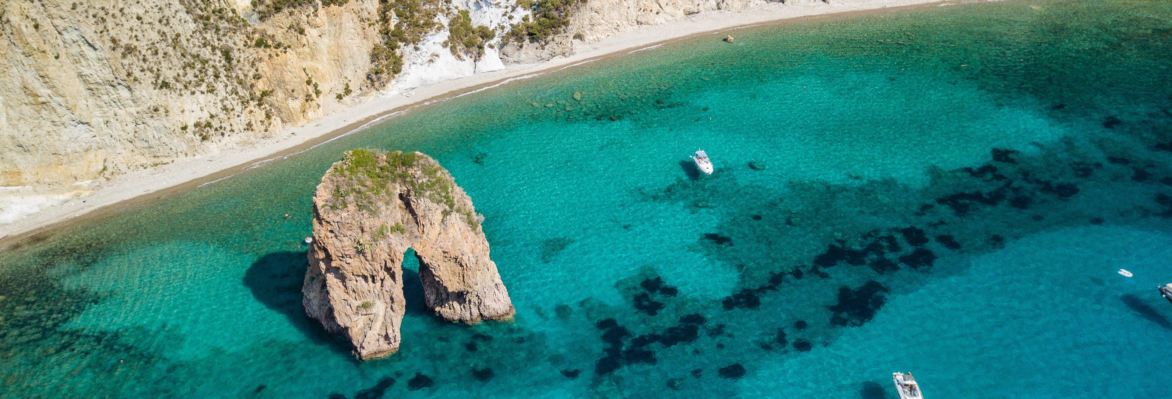 Excursión a Ponza y paseo en barco