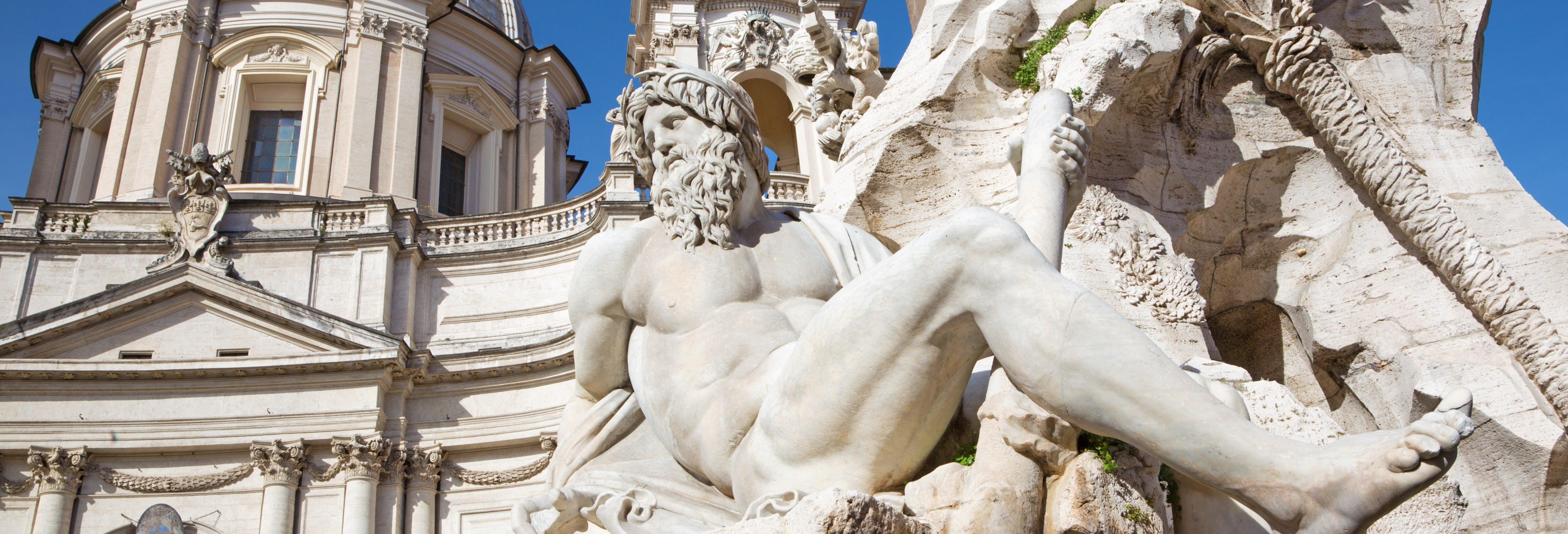 Paseo por las plazas y fuentes de Roma