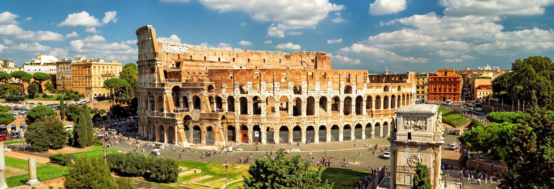 Coliseu, Fórum e Palatino + Arena de gladiadores