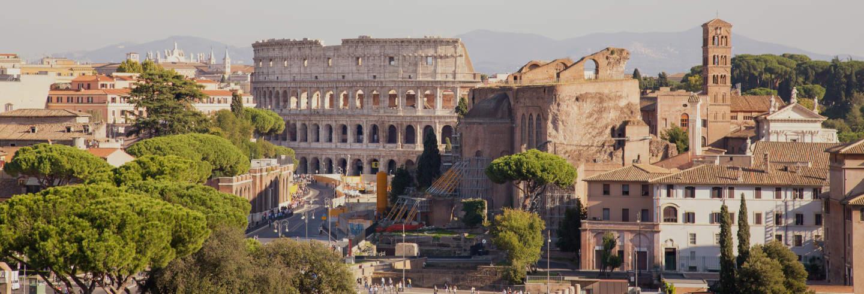 Escala em Roma? Tour saindo do aeroporto