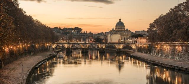 Tour nocturno por la Roma iluminada