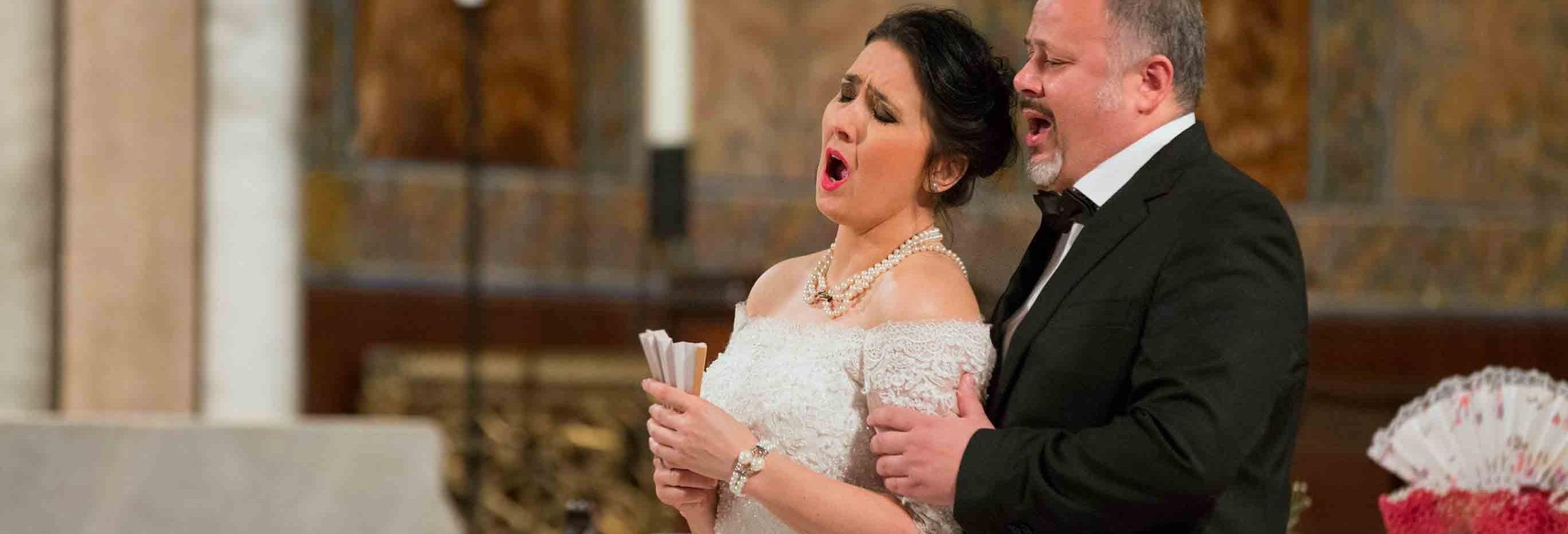 La Traviata com balé na igreja de São Paulo Intramuros