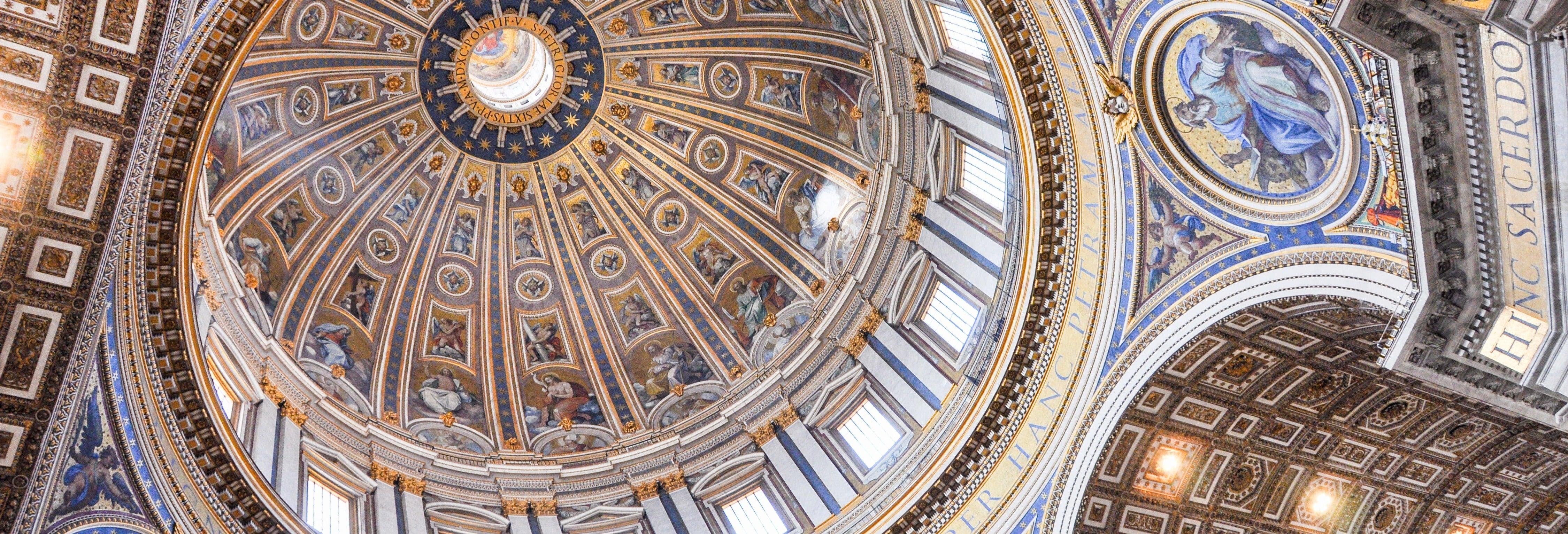 Visita guiada pela Basílica de São Pedro