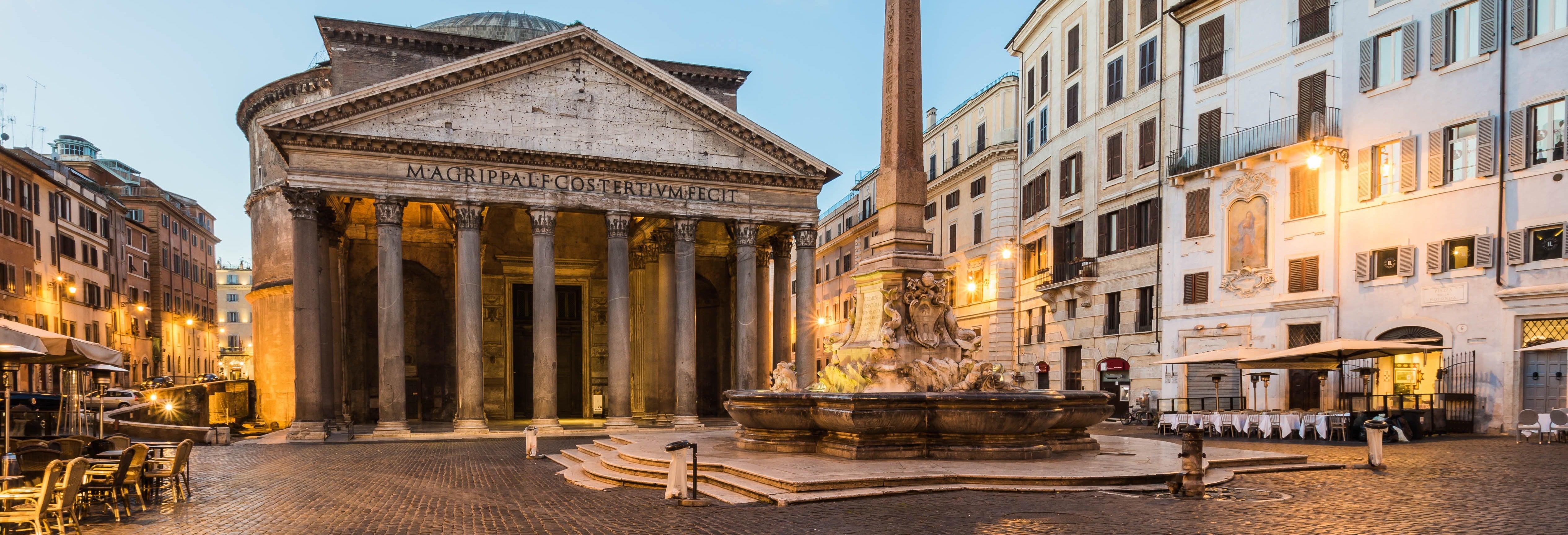Visita guiada por el Panteón de Agripa