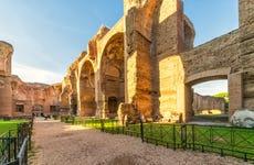 Visita guiada por las termas de Caracalla y el Circo Máximo