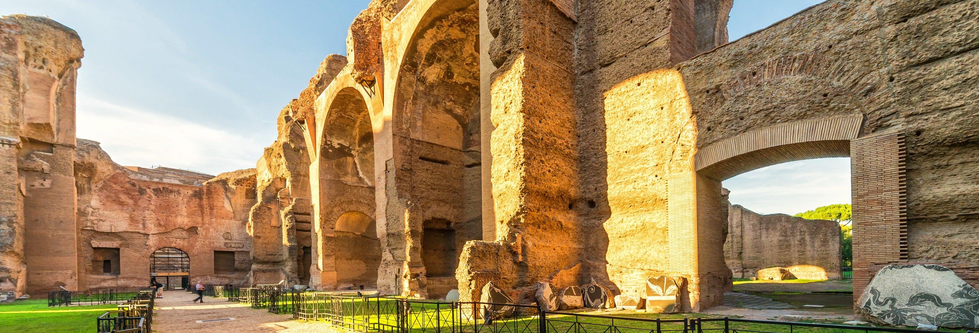 Visita guiada pelas Termas de Caracalla