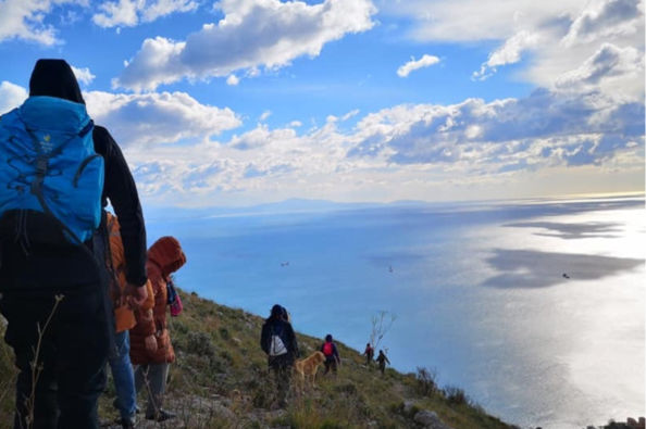 Hiking in Salerno