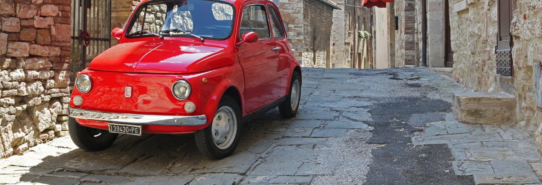Tour de Fiat 500 pelo Chianti