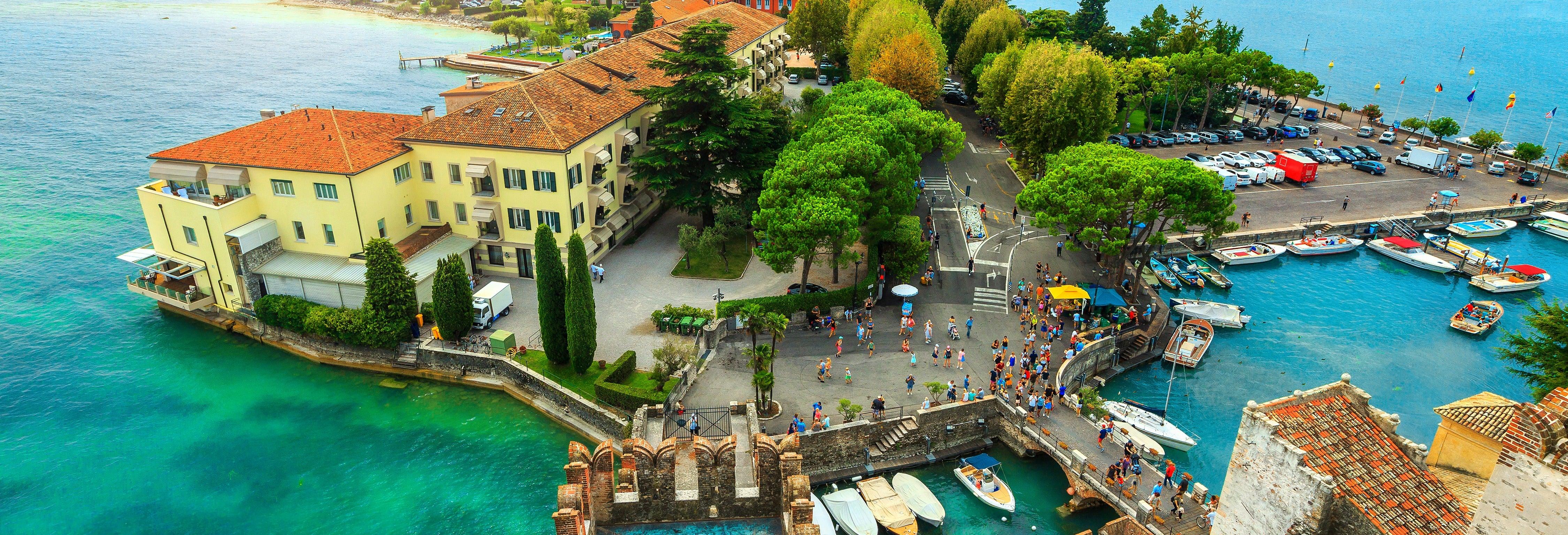 Speed Boat on Lake Garda: Sirmione Peninsula Tour