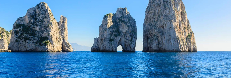Excursión a Capri y Pompeya en barco