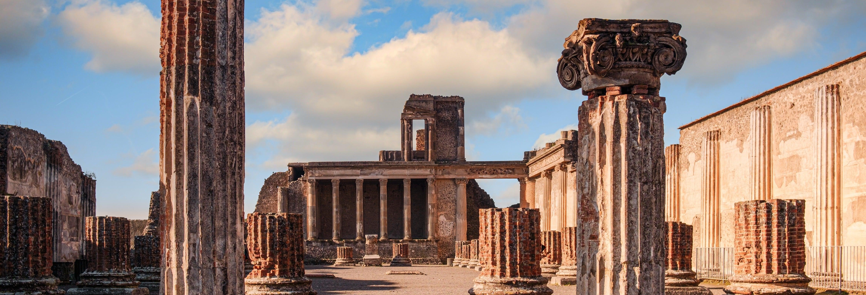 Excursão a Pompeia