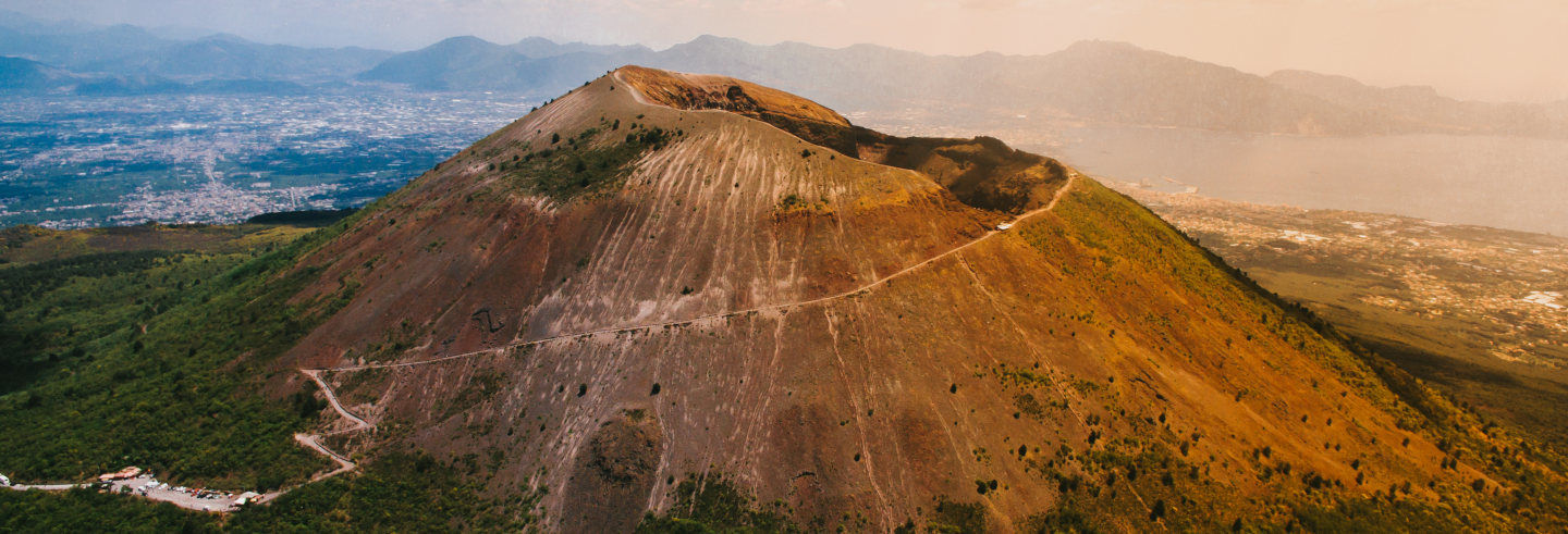 Passeio de helicóptero por Capri, Pompeia e Vesúvio