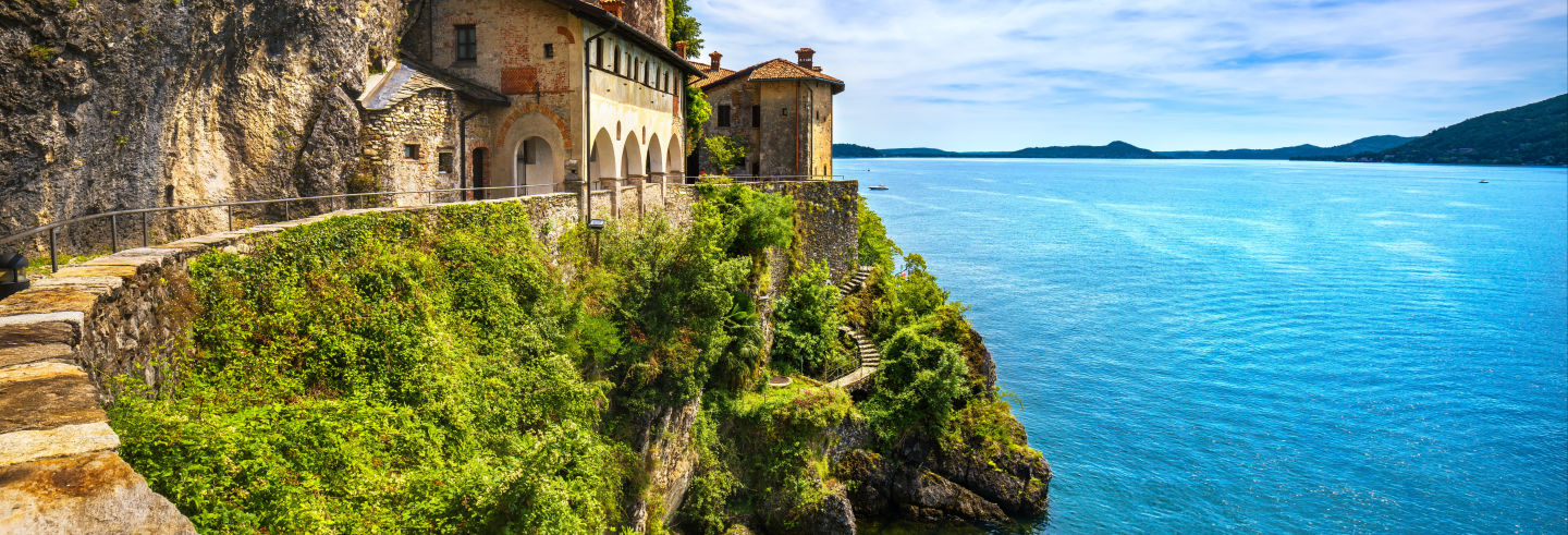 Passeio de barco pelas vilas do Lago Maggiore
