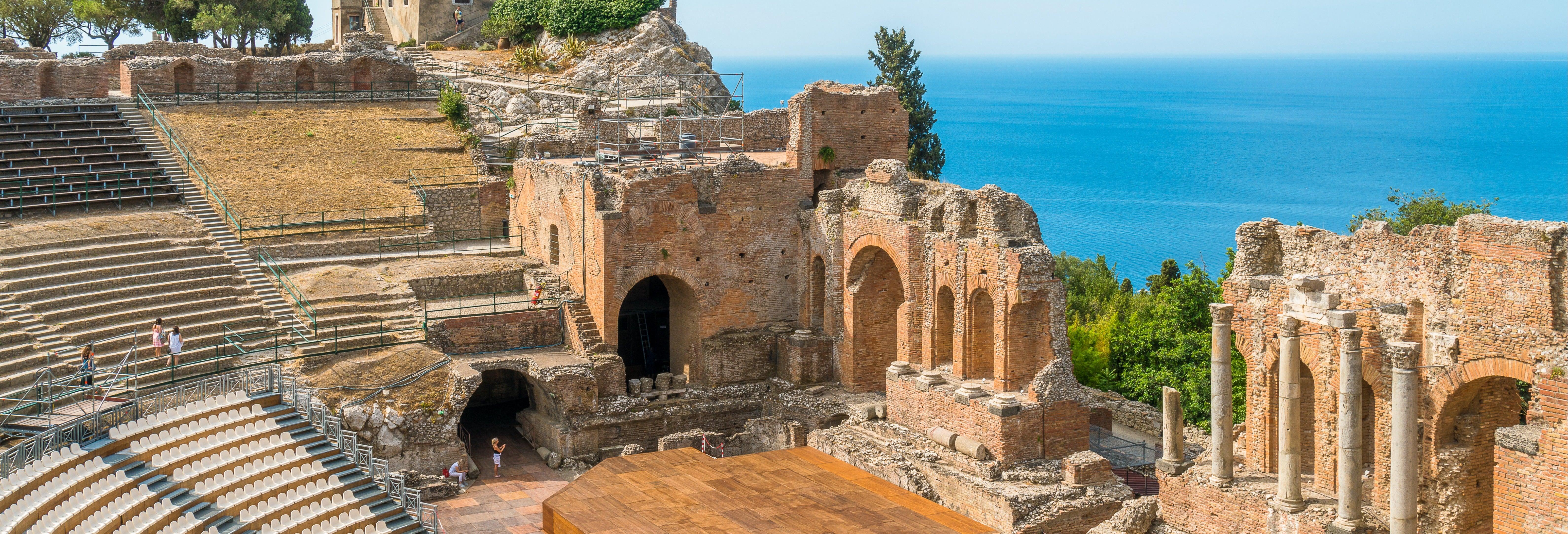 Tour por Taormina y Savoca