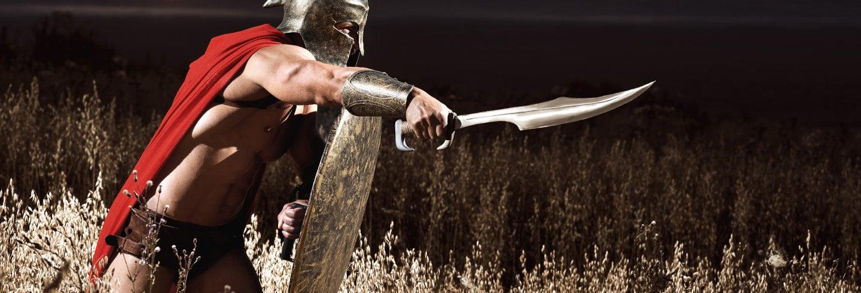 Curso na escola de gladiadores