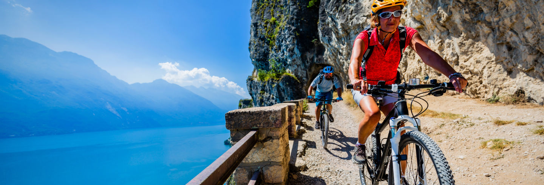 Tour en bicicleta por el lago de Garda