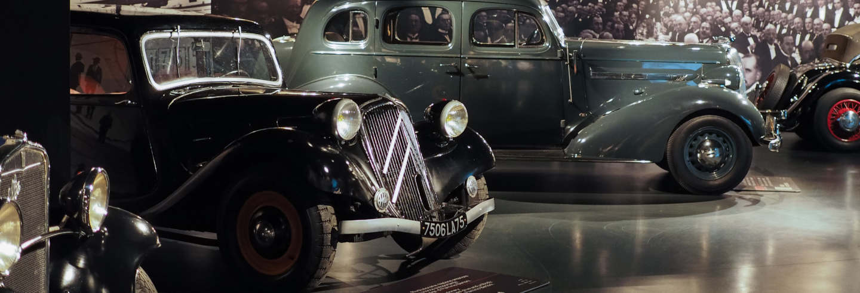 Visita guiada por el Museo del Automóvil