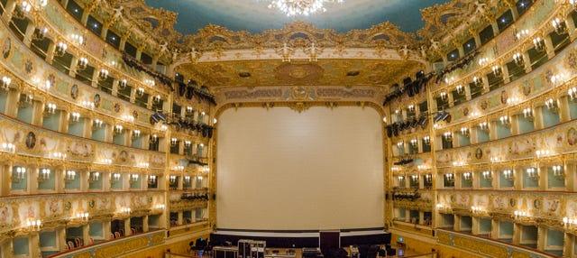 Ingresso para o Teatro La Fenice