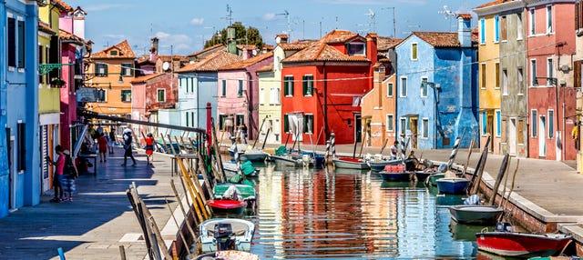 Excursión a Murano y Burano